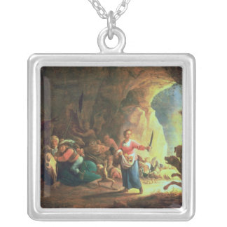 The Gates of Hades Silver Plated Necklace