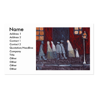 THE GATHERING, Name, Address 1, Address 2, Cont... Pack Of Standard Business Cards