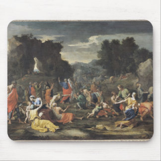 The Gathering of Manna, c.1637-9 Mouse Pad
