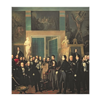 The Gathering of the Poets, 1846 Gallery Wrapped Canvas