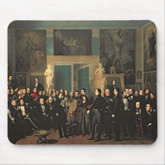 The Gathering of the Poets, 1846 Mouse Pad