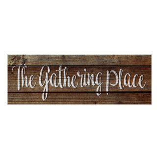 The Gathering Place Poster Print