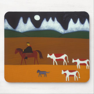 The Gaucho and his Cattle 2006 Mouse Pad