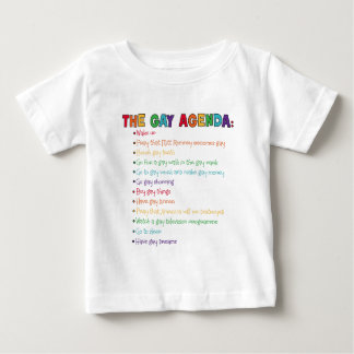 The Gay Agenda Baby T-Shirt