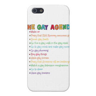 The Gay Agenda iPhone 5 Case