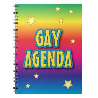 The Gay Agenda Notebook