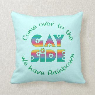 The Gay Side Cushion