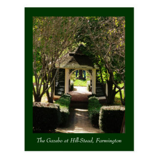 The Gazebo at Hill-Stead Postcard