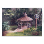 The Gazebo Father's Day Card