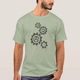 The Gears are Turning Towards C4SS (Distressed) T-Shirt