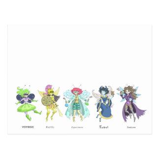 The Geek Fairies Postcard