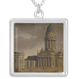 The Gendarmenmarkt Silver Plated Necklace