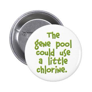 The Gene Pool 6 Cm Round Badge