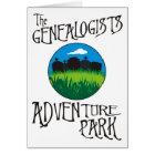 The Genealogists Adventure Park Birthday Card