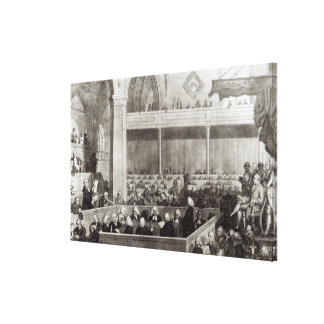 The General Assembly of the Kirk of Scotland Canvas Print