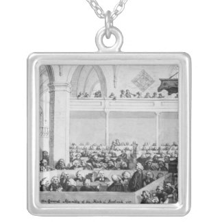 The General Assembly of the Kirk of Scotland Silver Plated Necklace