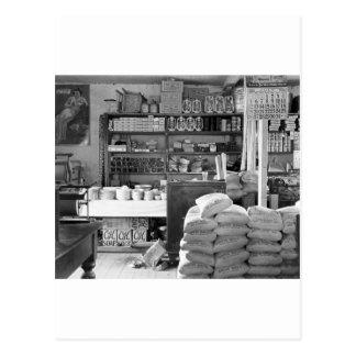 The General Store, Moundville, Alabama: 1936 Postcard
