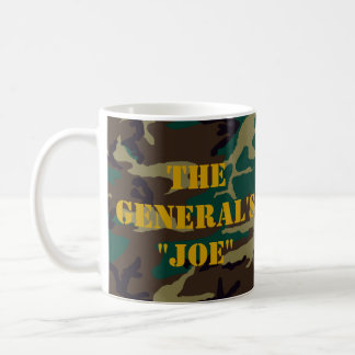 "The General's ""Joe"" Coffee Mug"