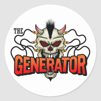 THE GENERATOR Sticker