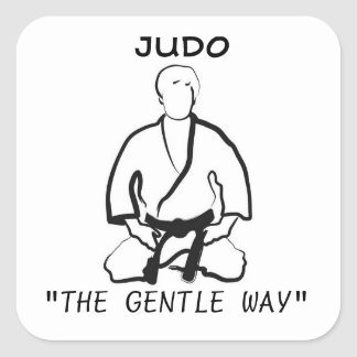 THE GENTLE WAY SQUARE STICKER
