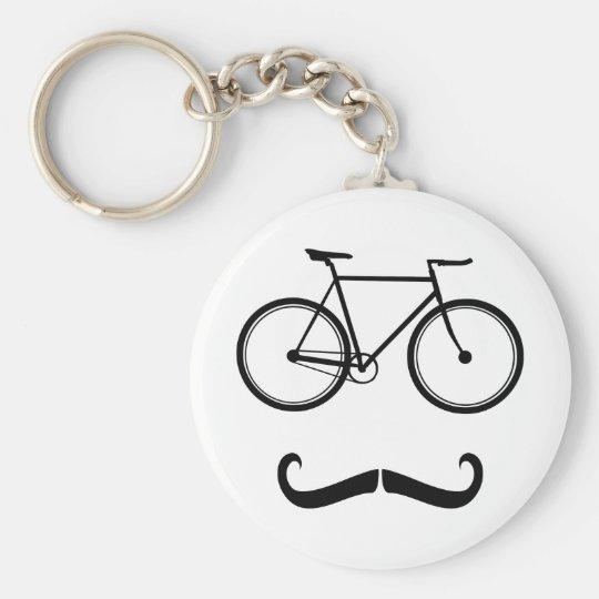 The Gentleman Basic Round Button Key Ring