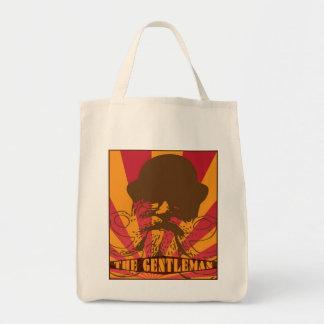 The Gentleman Orange Tote Bag