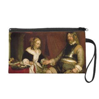 The Gentleman Soldier (oil on canvas) Wristlet