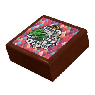 The George And Dragon (Fire) Keepsake Box
