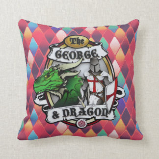 The George And Dragon (Fire) Pillow