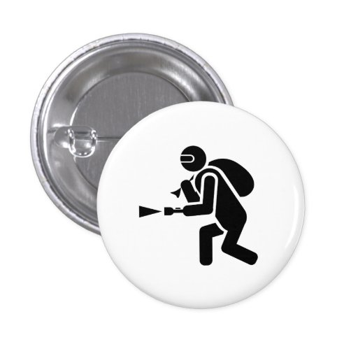 'The Getaway I' Pictogram Button