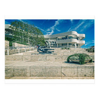 The Getty Center Arrival Plaza Postcard