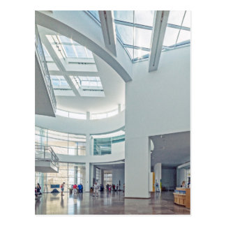 The Getty Center Entrance Hall Interior Postcard