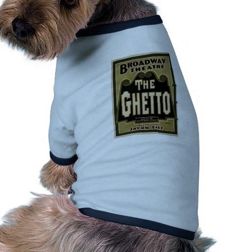 The Ghetto, by 'Jacob Litt' Retro Theater Doggie Tee