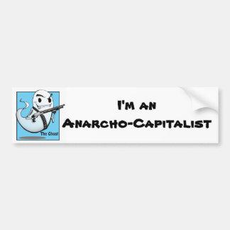 The Ghost Anarcho Bumper Sticker