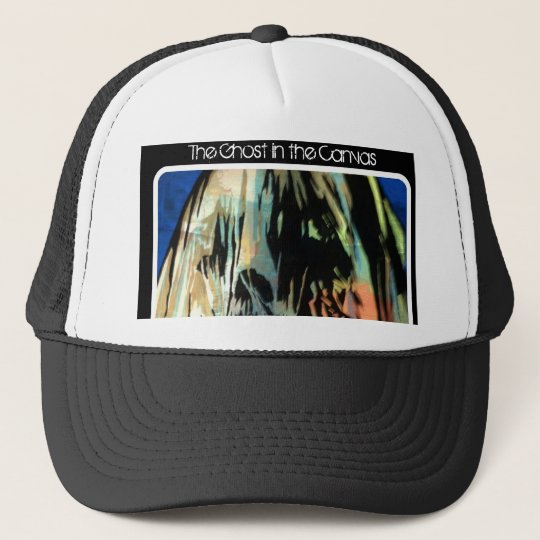 'The Ghost in the Canvas' Trucker Hat