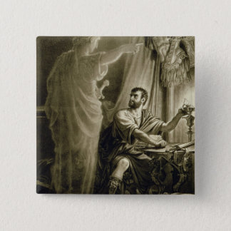 The Ghost of Julius Caesar, in the play by William 15 Cm Square Badge