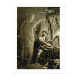The Ghost of Julius Caesar, in the play by William Postcard