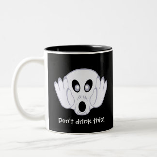The Ghost Was Busted Two-Tone Coffee Mug