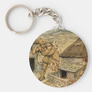The Giant Cormoran Basic Round Button Key Ring