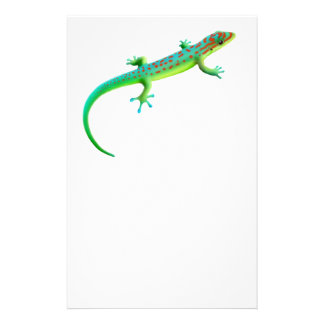The Giant Day Gecko Stationery