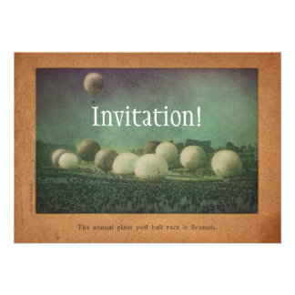 The Giant Puff Ball Race Invite
