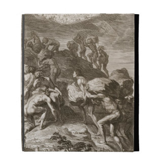 The Giants Attempt to Scale Heaven by Piling Mount iPad Folio Cover