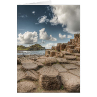 The Giant's Causeway, Northern Ireland Greeting Card