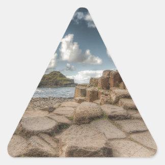 The Giant's Causeway, Northern Ireland Triangle Sticker