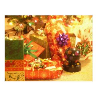 The Gifts of Christmas Postcard