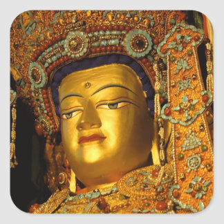 The gilded Jowo Buddha Statue, Jokhang Temple, Sticker