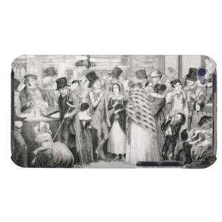 The Gin Shop, plate 1 of 'The Drunkard's Children' Barely There iPod Covers