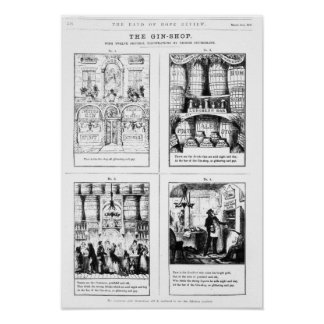 The Gin Shop Poster