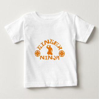 The Ginger Ninja Baby T-Shirt