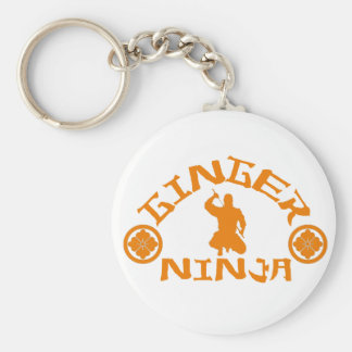 The Ginger Ninja Basic Round Button Key Ring